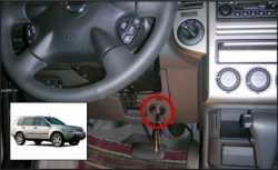замок на руль Sentry Spider для Nissan X-Trail 09-12