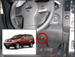 замок на руль Sentry Spider для Nissan Pathfinder/Navara 10-12