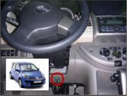 замок на руль Sentry Spider для Nissan Note 09-12