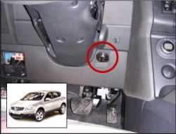 замок на руль Sentry Spider для Nissan Qashqai 08-12