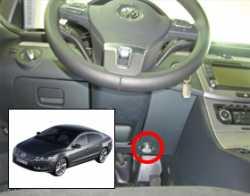 замок на руль Sentry Spider для VW Passat B7/CC 2012-