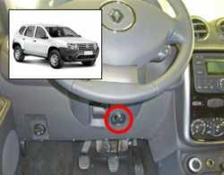 замок на руль Sentry Spider для Renault Duster (МКПП)