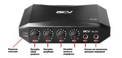 ACV KW-2M караоке система