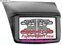 рамка для магнтолы Metra intro RMS-N17 для Mitsubishi L-200, Pajero Sport