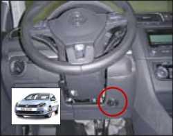 замок на руль Sentry Spider для VW Golf-6 09-12