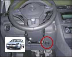 замок на руль Sentry Spider для VW Golf Plus