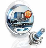 H4+W5W Philips 12V-60/55+5W 2шт 12342 CVSM