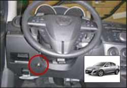 замок на руль Sentry Spider для Mazda 3 new 09-12