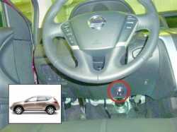 замок на руль Sentry Spider для Nissan Murano 09-12