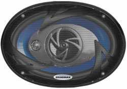 Soundmax Коаксиальная акустика 6x9 SM-CSD693