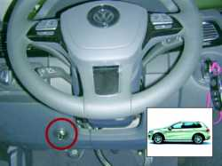 замок на руль Sentry Spider для VW Toureg 10-12